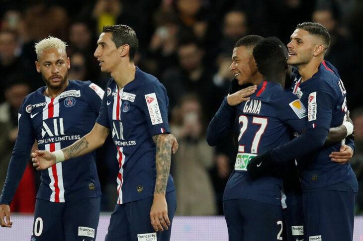 PSG, con tres argentinos, busca la triple corona francesa con la Copa de la Liga