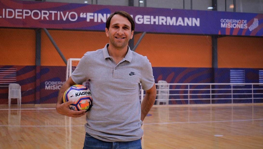 Rafael Morgenstern destacó el programa Clubes en Obra y anticipó que los Juegos Deportivos Misioneros volverían en caso de que se retomen las clases en las escuelas
