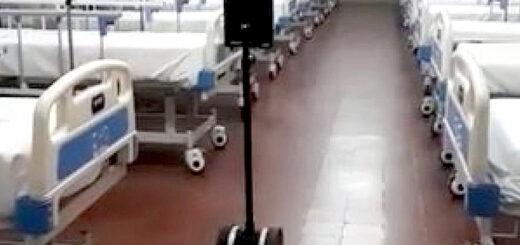 Corrientes sumó un robot enfermero a su hospital de campaña para coronavirus