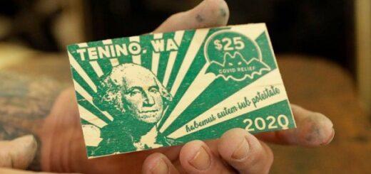 Estados Unidos: un pueblo imprimió su propia moneda por la crisis del coronavirus