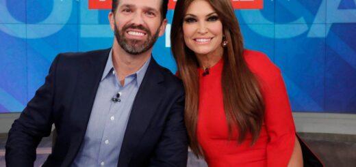 La novia del hijo de Donald Trump tiene coronavirus
