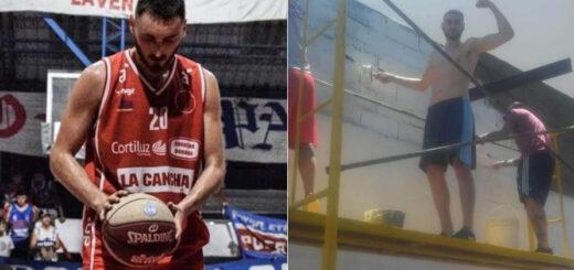 Conmoción en Uruguay por la muerte de un basquetbolista en pleno partido