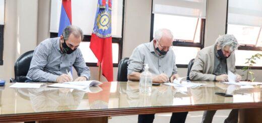Firmaron convenio para la revalorización cultural, histórica y educativa de Posadas