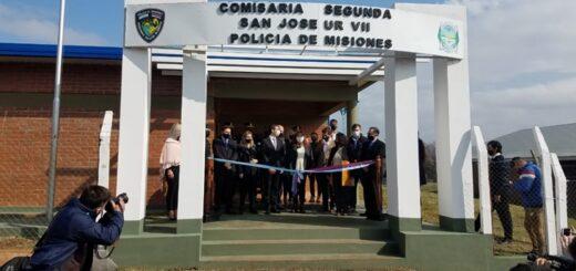 En el aniversario de San José el gobierno provincial inauguró la Comisaría de la Mujer y entregó títulos de propiedad