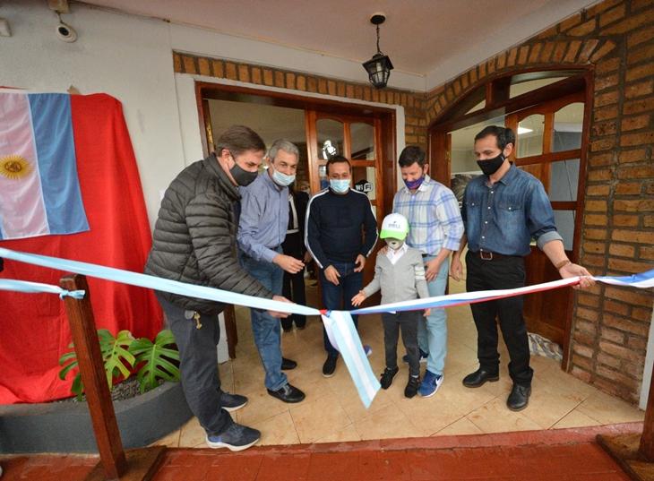Con apoyo del Gobierno provincial reabrió un emblemático hotel en Oberá