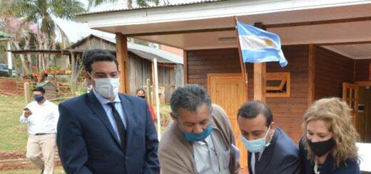 El Gobernador de Misiones habilitó la nueva sede del Juzgado de Paz de Hipólito Yrigoyen