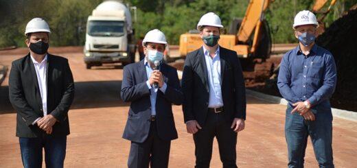 Herrera Ahuad y Fernández anunciaron obras viales estratégicas para Misiones