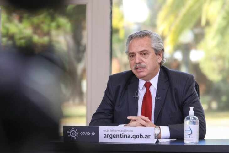 Alberto Fernández: «No nos van a doblegar los que gritan»