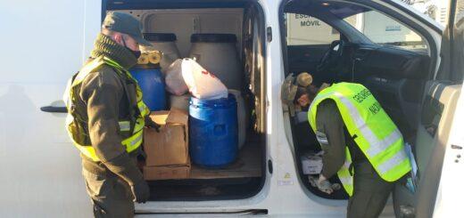 Gendarmería Nacional destruyó más de diez toneladas de marihuana