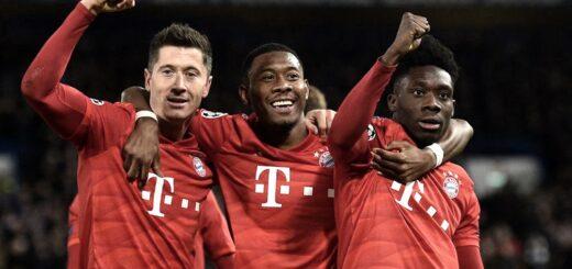 Bayern Munich y Lyon definen al otro finalista de la Liga de Campeones en Lisboa
