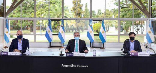 El Presidente se reúne con Larreta y Kicillof para definir la nueva etapa del distanciamiento social