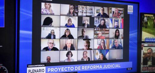 Continúa en el Senado el debate del proyecto de reforma judicial