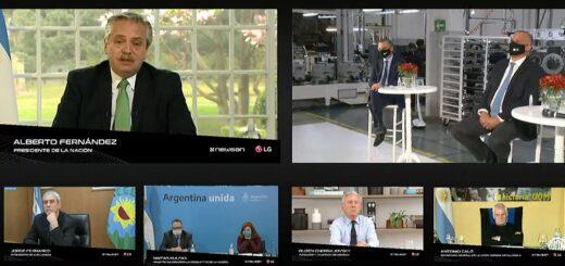 """Alberto Fernández: """"Hablé con el FMI para ponernos a trabajar y ordenar el desorden que heredamos"""""""
