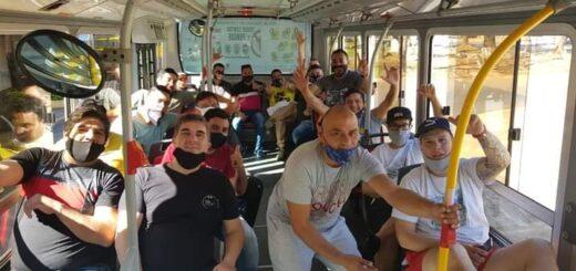 Tras denuncias de usuarios por riesgo de contagio, desde Don Casimiro aseguran que los choferes que trajeron de Buenos Aires no están prestando servicio todavía