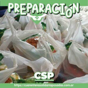 """Desde el proyecto """"Cuarentena Solidaria Posadas""""  llevan  mercaderías a comedores de la ciudad"""