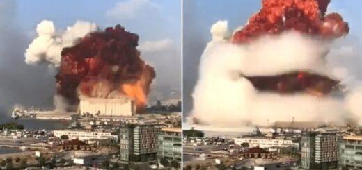Explosión en Beirut: advierten sobre la presencia de nube roja formada por gases tóxicos y aconsejan abandonar la ciudad