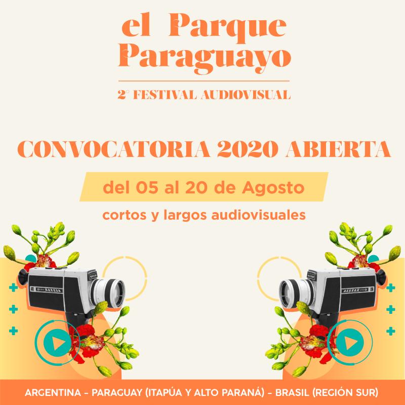 """La segunda Edición del Festival Audiovisual """"El Parque Paraguayo"""" FAVEPP abre convocatoria para integrar la programación"""