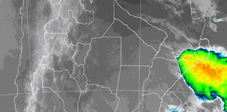 Misiones en alerta meteorológica por «tormentas fuertes con lluvias intensas y ocasional caída de granizo»