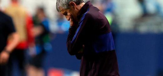 Quique Setién dejó de ser el entrenador del Barcelona
