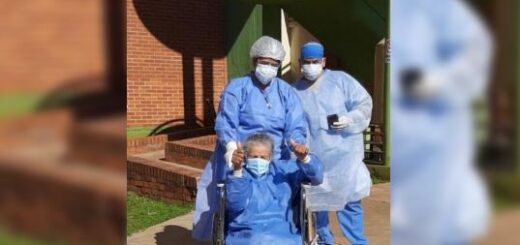 Coronavirus: recibió el alta médica la paciente de 85 años de Andresito