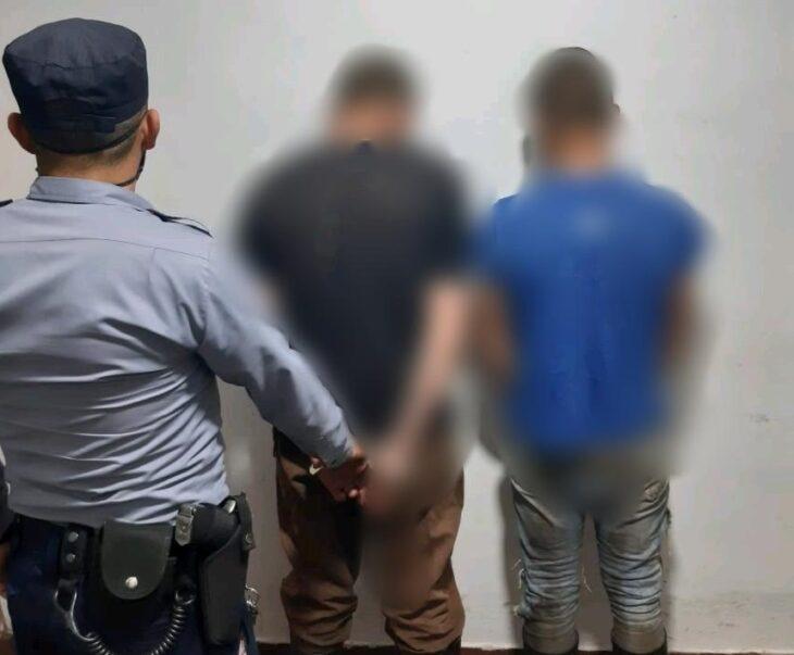 Dos jóvenes cazadores furtivos fueron detenidos en una propiedad privada cerca de San Pedro