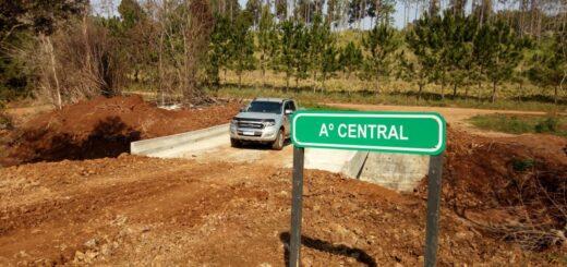 Vialidad de Misiones habilitó dos nuevos puentes en San Antonio y Cerro Corá