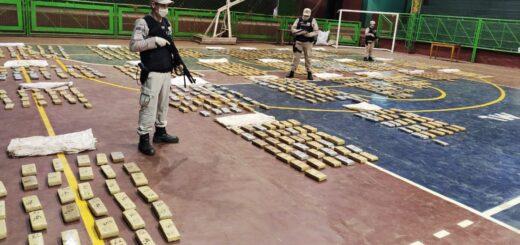 Prefectura incautó más de 730 kilos de marihuana en Misiones