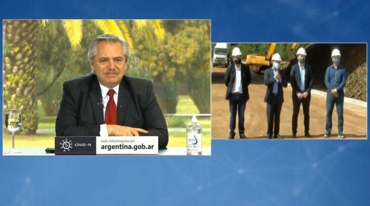 Alberto Fernández anunció obras en Misiones y en otras cuatro provincias
