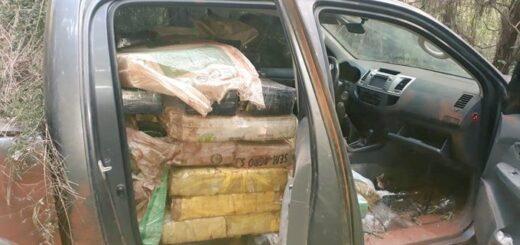Puerto Libertad: la Policía de Misiones encontró una camioneta repleta de droga