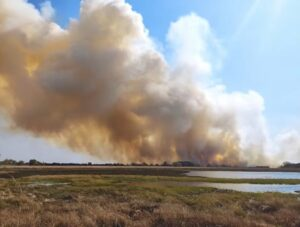 Alerta máxima: incendios rurales y forestales se extienden en 9 provincias argentinas, y en Misiones se refuerza en prevención prohibiendo las quemas en todo el territorio