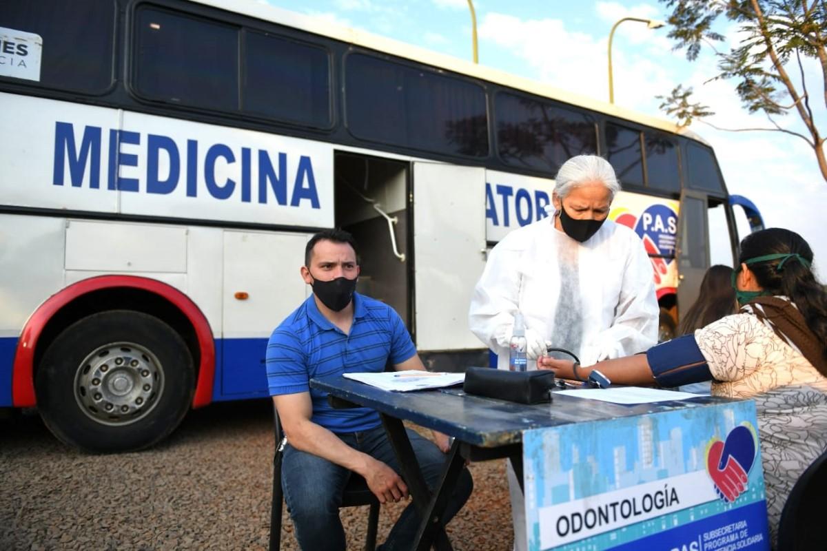 Leonardo Stelatto y Carlos Arce participaron de un nuevo operativo del PAS en Posadas