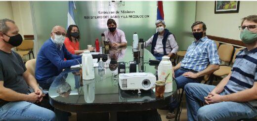 Reunión entre el INYM y el Ministerio del Agro para coordinar trabajos en conjunto