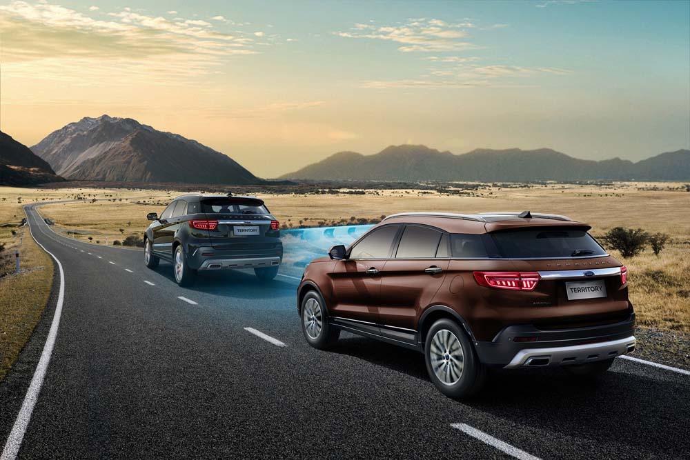 Ford lanza al mercado el impactante y tecnológico modelo Territory