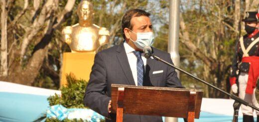 El gobernador Oscar Herrera Ahuad solicitó a Nación la continuidad del cierre de frontera y una política que en ese sentido incluya todas la variables económicas y sociales