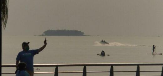 La costanera de Posadas fue el lugar elegido para realizar actividades al aire libre
