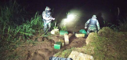 Prefectura secuestró un camión cargado con tres toneladas y media de marihuana en Corpus
