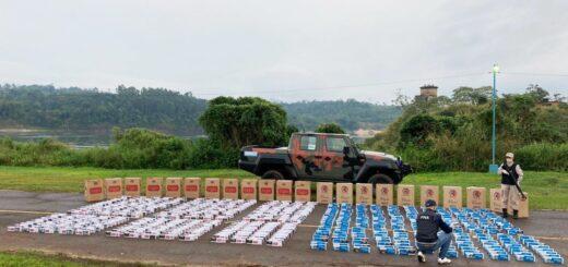 Prefectura secuestró 26.000 atados de cigarrillos en Misiones