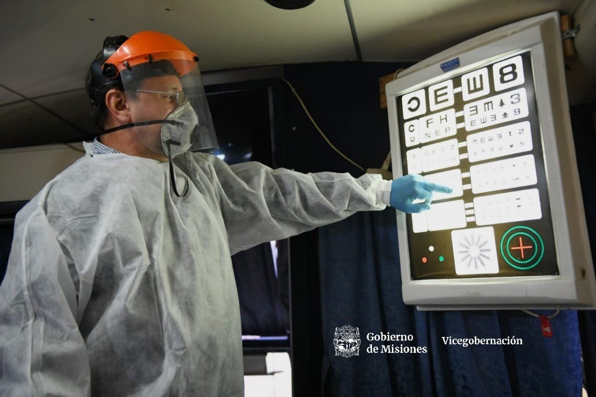 Se desarrolló un nuevo operativo MICRO P.A.S en la chacra 158 de Posadas
