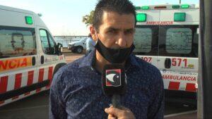 Municipio 77: Andrés Podkowa recibió la primera ambulancia para Salto Encantado
