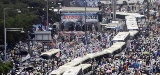 Coronavirus: Corea atraviesa un rebrote de la enfermedad tras una marcha opositora
