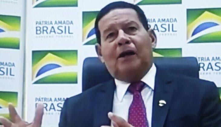 Coronavirus: para el vicepresidente de Brasil los casos comenzarán a bajar entre agosto y septiembre