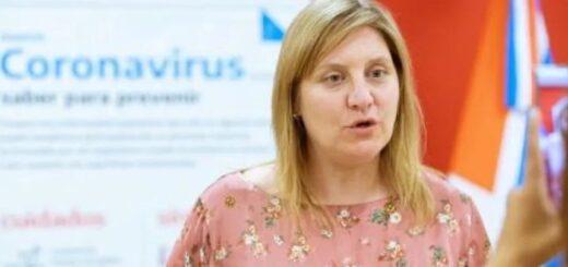 Coronavirus: la ministra de Salud de Tierra del Fuego contrajo la enfermedad