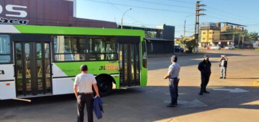 Conflicto en el transporte urbano: impiden el ingreso de colectivos de la empresa Bencivenga a la Estación de Transferencia de Quaranta de Posadas