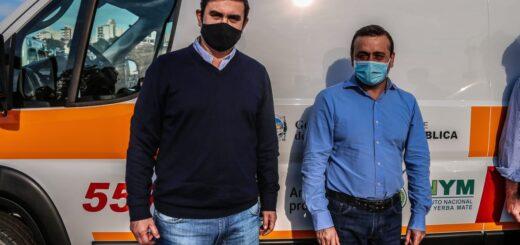 Fabio Martínez destacó que la Salud Pública sea prioridad en Misiones y agradeció al Gobernador por la ambulancia de alta complejidad para Eldorado