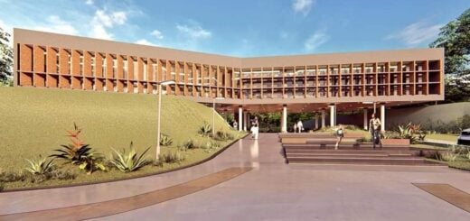 Iniciaron la obra de construcción de un nuevo edificio municipal en Montecarlo