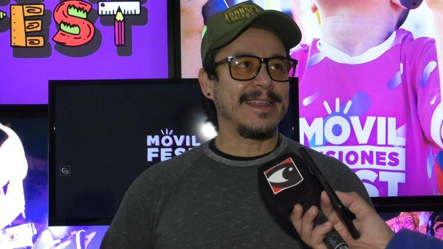 Cristian Acuña- organizador del Móvil Fest