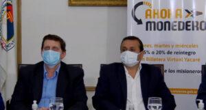 """Herrera Ahuad lanzó #AhoraMonedero, la billetera virtual que fomenta el consumo local """"y nos permite dar un paso más en seguridad sanitaria"""""""