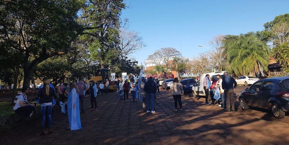 Así se vivió en Misiones la marcha del #17A contra el Gobierno nacional