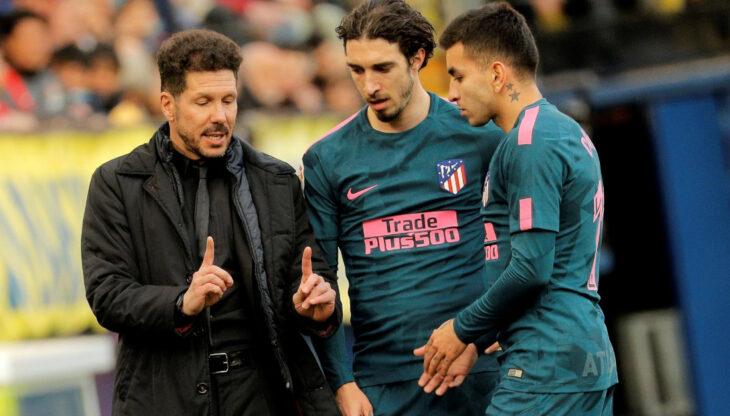 Ángel Correa y Sime Vrsaljko, los dos positivos en coronavirus del Atlético de Madrid que se perderán la definición de la Champions
