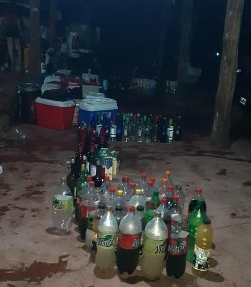 Cuarentena por el coronavirus: frustraron una fiesta con 100 personas en El Soberbio